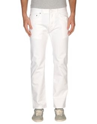 Christian Dior Dior Homme Denim Pants White