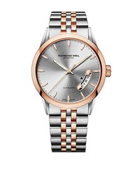 Raymond Weil Mens Freelancer Two Tone Watch