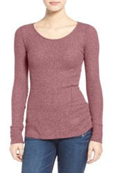 Bp Thermal Knit Pullover Red