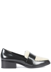 3.1 Phillip Lim Quinn Shearling And Leather Loafers