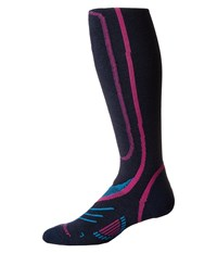Fox River Vvs Lw Pro Navy Fuchsia Women's Crew Cut Socks Shoes