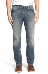 Men's Mavi Jeans 'Zach' Straight Fit Skinny Jeans Used Green Cast