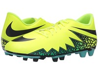 Nike Hypervenom Phade Ii Fg Volt Hyper Turquoise Clear Jade Black Men's Soccer Shoes Yellow