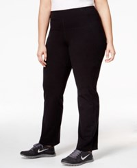 Calvin Klein Performance Plus Size Slimming Leggings Black