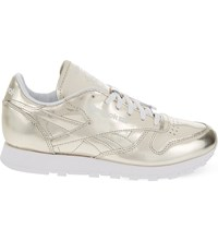 Sandro Reebok Classic Leather Trainers Gold