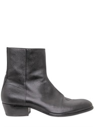 Maison Martin Margiela Maison Margiela 45Mm Tuxedo Metallic Leather Boots