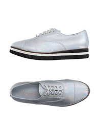 Alexander Hotto Footwear Lace Up Shoes Women Silver