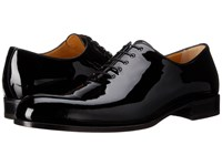 A. Testoni Patent Leather Dress Oxford Black
