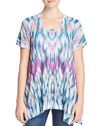 Nally And Millie Abstract Print Tee Multi