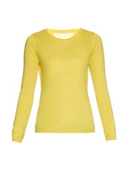 Red Valentino Crew Neck Cashmere And Silk Blend Sweater