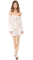 For Love And Lemons Precioso Dress Ivory