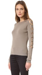 Versus Long Sleeve Sweater Capers