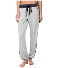Zobha Sadie Lounge Pant Heather Grey Women's Casual Pants Gray