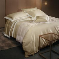 La Perla Venere Duvet Cover Super King Sand