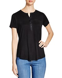 Nydj Button Placket Tee