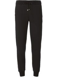 Moncler Cuffed Ankle Track Pants Black