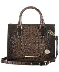 Brahmin Melbourne Anywhere Convertible Satchel Brunello