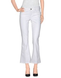 Liu Jo Jeans Casual Pants White