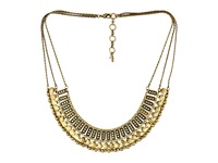 Lucky Brand Textured Metal Necklace Gold Necklace