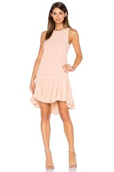 Pink Stitch Alexa Dress Blush