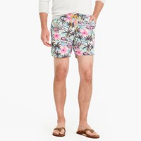 J.Crew 6 Swim Trunk In Tropical Floral