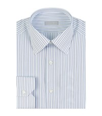 Stefano Ricci Fine Stripe Shirt Male Blue