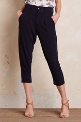 Ottod'ame Harlow Tapered Trousers Blue