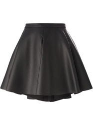 Amen Faux Leather A Line Skirt