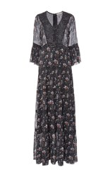 Ulla Johnson Aurora Floral Dress Navy