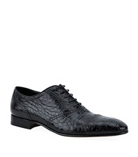 Stemar Crocodile Oxford Shoe Male