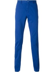 Etro Classic Chino Trousers Blue