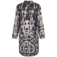 Religion Women's Hollow Kaftan Dress Smokey Grape Black