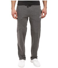 Nike Club Fleece Cargo Pant Charcoal Heather White Men's Workout Gray