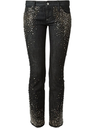 Dsquared2 Skinny Studded Jeans Black