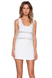 Evil Twin Ring Leader Dress White