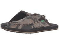 Sanuk You Got My Back Ii Camo Smoke Camo Men's Sandals Green
