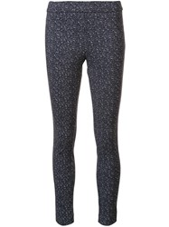Theory Patterned Legging Black