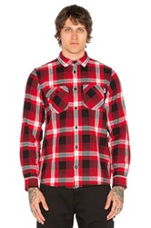 Carhartt Lawler Button Down Red