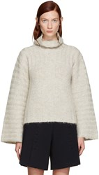 See By Chloe Grey Mohair Turtleneck