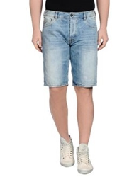 Uniform Denim Bermudas Blue