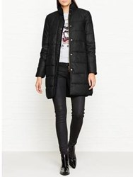 Barbour Wax Baffle Quilted Coat Black