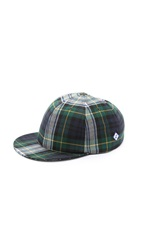 Larose Wool Baseball Cap Gordon Tartan