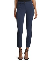 Escada Low Rise Cropped Pants Imperial