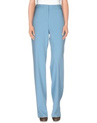 Roberto Cavalli Trousers Casual Trousers Women Pastel Blue