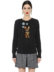 Dolce And Gabbana Zambia Embroidered Cashmere Sweater