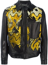 Ann Demeulemeester Abstract Pattern Jacket Black