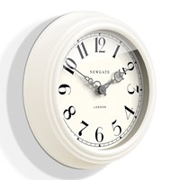 Newgate Clocks The Dormitory Wall Clock Linen White