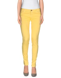 Jcolor Trousers Casual Trousers Women Yellow