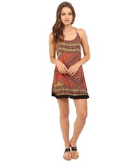 Hurley Sable Dress Bright Mango T Women's Dress Orange