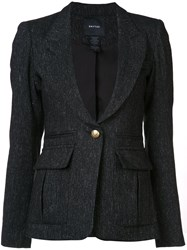 Smythe Tweed Blazer Black